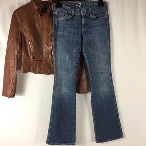 Seven A Pocket Boot Cut Jeans